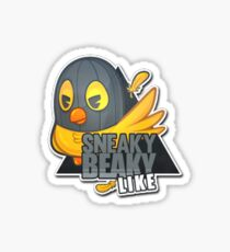 Sneaky Beaky Like Sticker Sticker