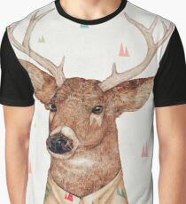White-Tailed Deer Graphic T-Shirt