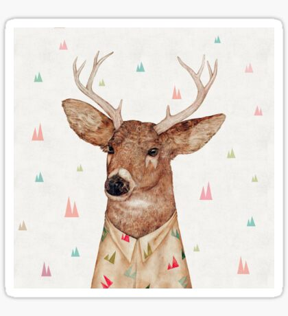 White-Tailed Deer Sticker