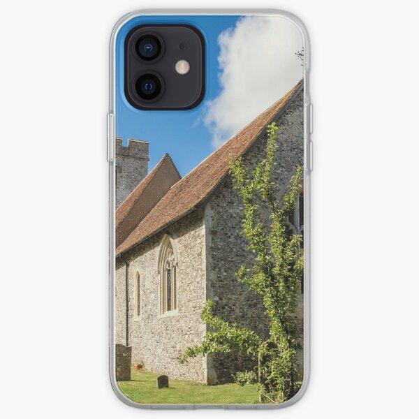 The parish church of Saint Cosmas and Saint Damian iPhone Soft Case