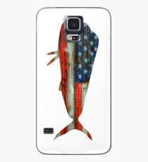 Funda/vinilo para Samsung Galaxy Mahi Mahi USA Merica Dolphin