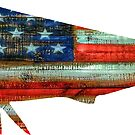 Mahi Mahi USA Merica Dolphin by Statepallets
