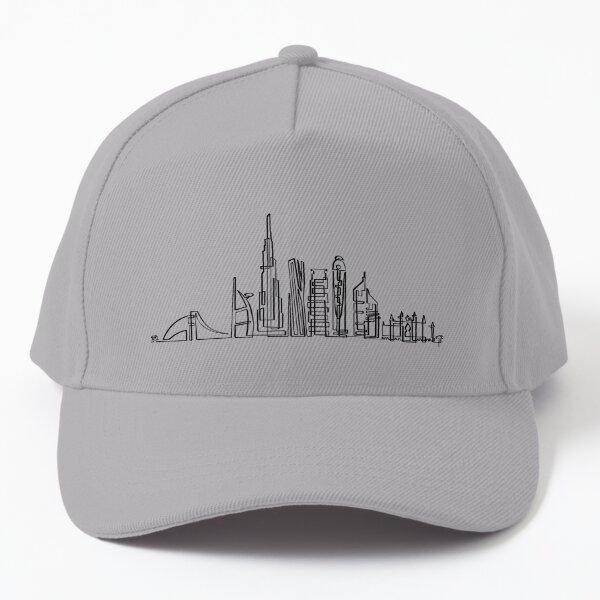 Dubai Skyline in onedraw Baseball Cap