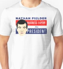 Nathan Fielder for President (Nathan for You) T-Shirt