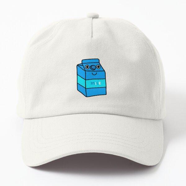 happy milk doodle Dad Hat