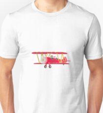 Big City Vehicles - Squirrel Pilot Flying Airplane T-Shirt