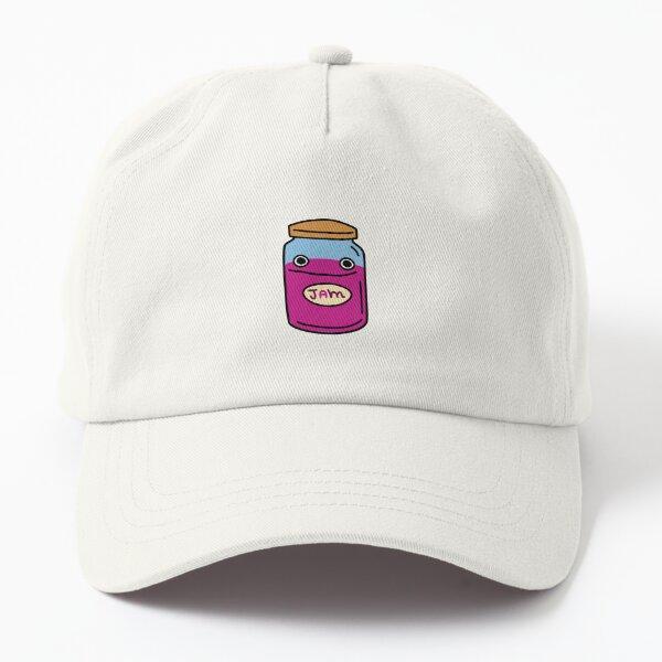 happy jar of jam Dad Hat