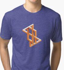 Escher Maze Tri-blend T-Shirt