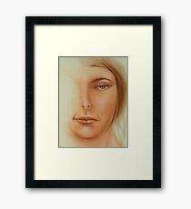 Fantasy Sketch Framed Print