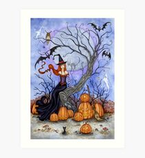 The Halloween Tree Art Print