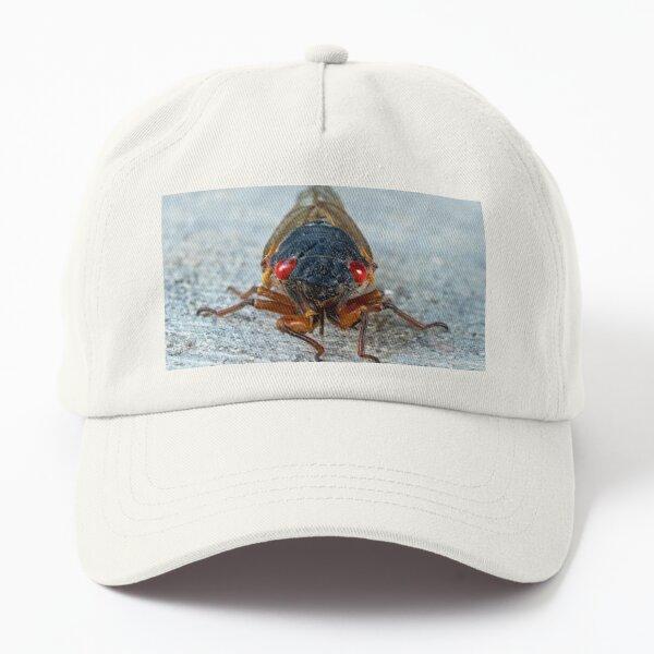 17-Year Periodical Cicada Face Dad Hat