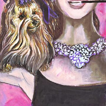 The Audrey Hepburn Yorkshire Terrier by douglasrickard