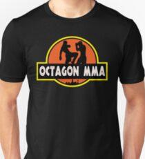 Camiseta ajustada Octagon MMA Jurassic Fighting
