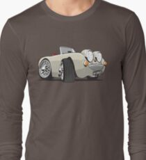 Austin Healey Sprite caricature old English white Long Sleeve T-Shirt