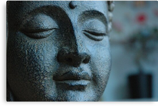 Buddha, in Blue. by Rob Corbett