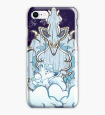 Wolf God Tiki iPhone Case/Skin