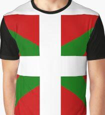 Basque Flag Graphic T-Shirt