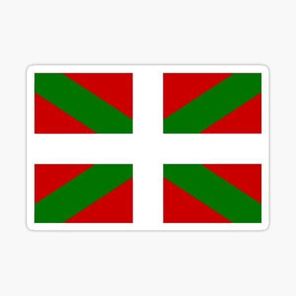 Drapeau basque Sticker