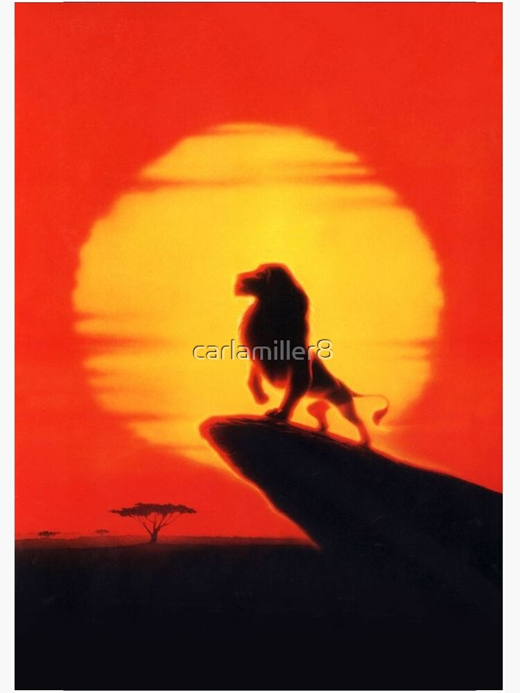 The Lion King Mufasa Spiral Notebook