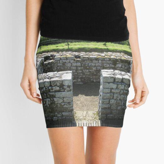 M.I. #124  ☼  INTERVAL TOWER (Hadrian's Wall) Mini Skirt