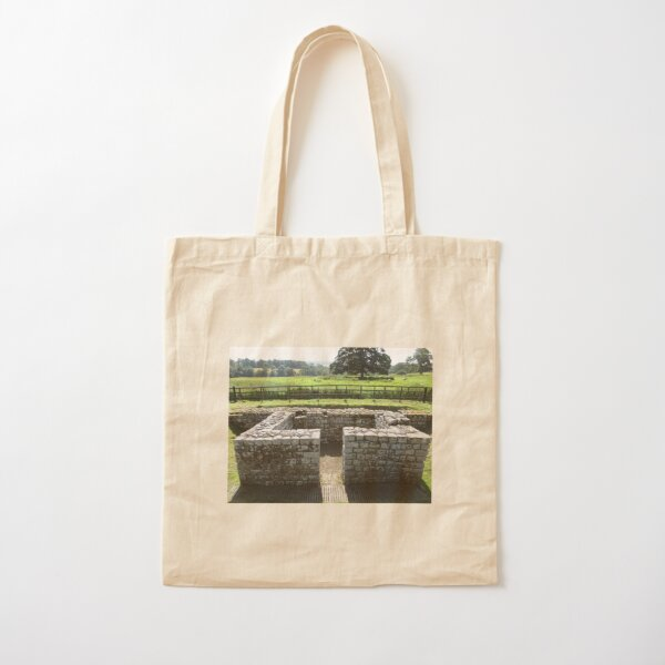 M.I. #124 |☼| INTERVAL TOWER (Hadrian's Wall) Cotton Tote Bag