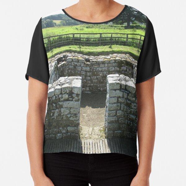 M.I. #124 |☼| INTERVAL TOWER (Hadrian's Wall) Chiffon Top