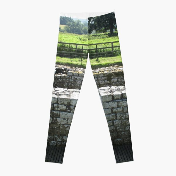 M.I. #124  ☼  INTERVAL TOWER (Hadrian's Wall) Leggings