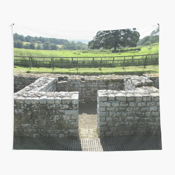 M.I. #124  ☼  INTERVAL TOWER (Hadrian's Wall) Tapestry
