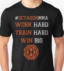 Camiseta ajustada Octagon MMA Hashtag Logotipo