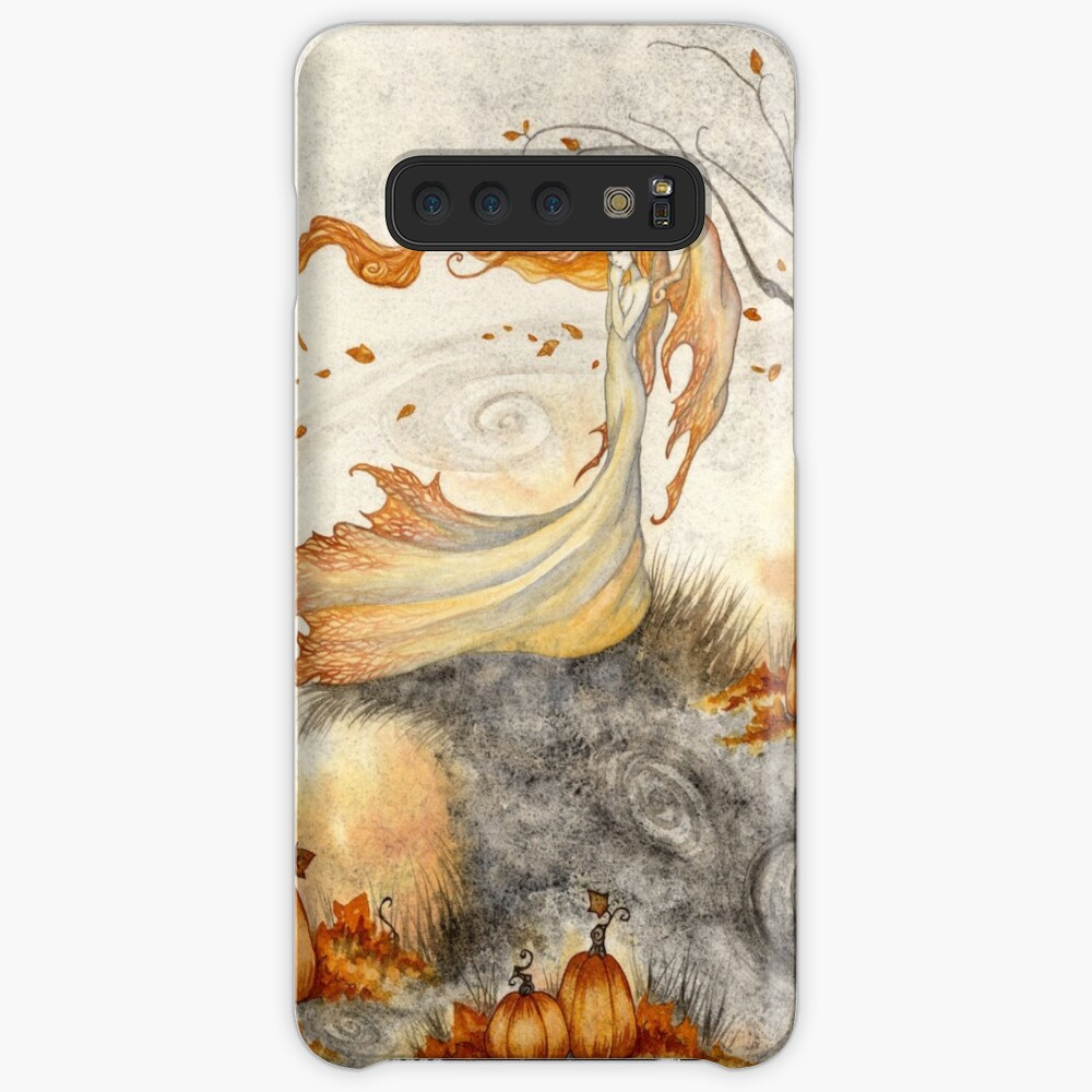 Whispers in the Pumpkin Patch Case & Skin for Samsung Galaxy