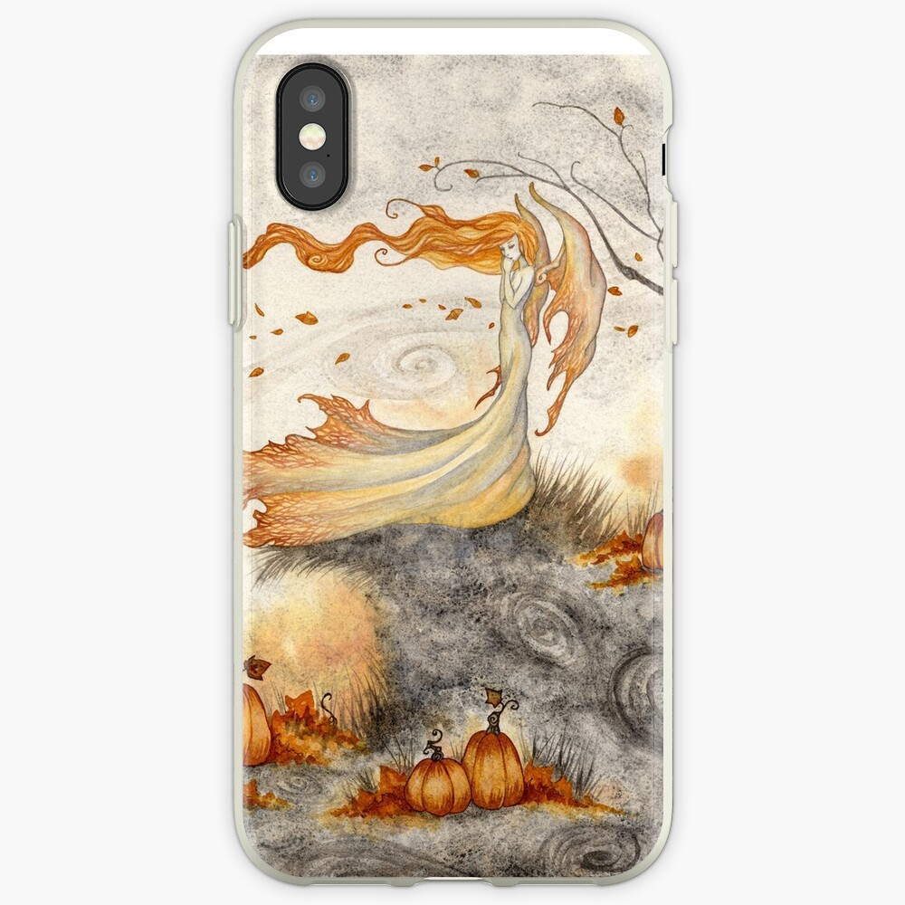 Whispers in the Pumpkin Patch iPhone Case & Cover