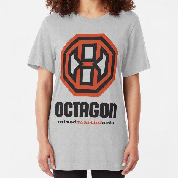Octagon MMA Original Logo Slim Fit T-Shirt