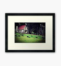 Cottage. Framed Print
