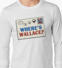 Where's Wallace? (The Wire) Long Sleeve T-Shirt