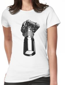 Nikon FA, vintage Womens Fitted T-Shirt