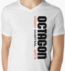 Camiseta de cuello en V Octagon MMA Vertical