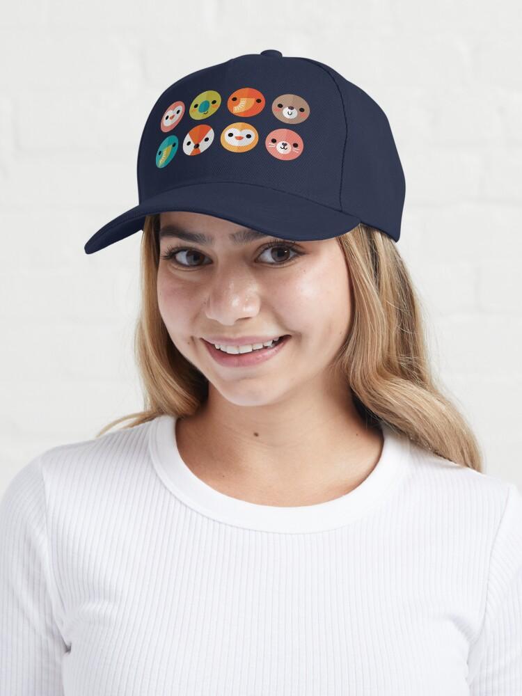 Alternate view of Smiley Faces Cap
