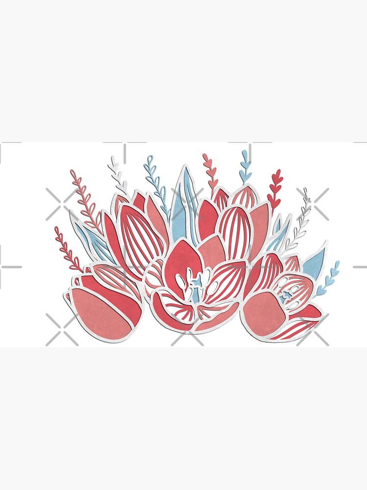 Papercut tulips by Elenanaylor