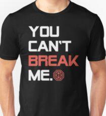 Camiseta ajustada Octagon MMA No puedes romperme