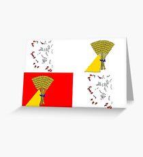 Gascony Flag Greeting Card