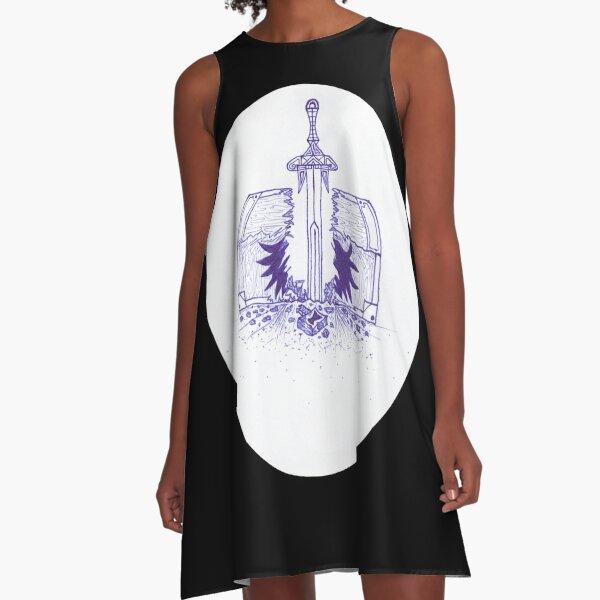 M.I. #125  ☽  Chest Pain A-Line Dress