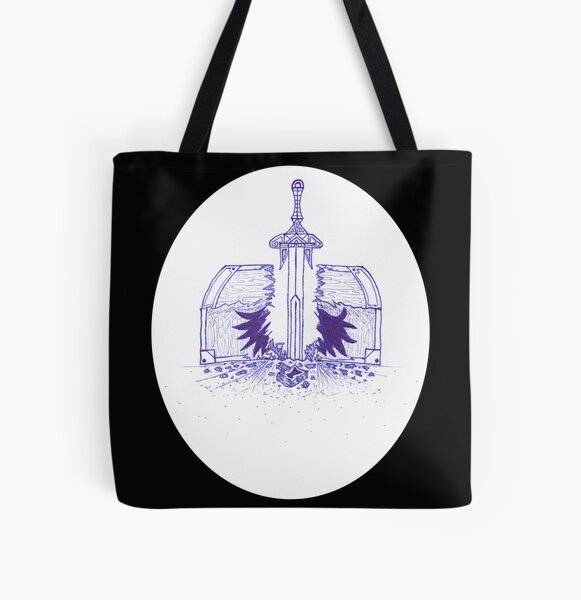 M.I. #125 |☽| Chest Pain All Over Print Tote Bag