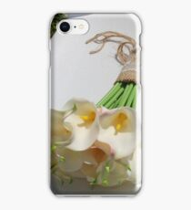 And The Bride Wore White iPhone Case/Skin