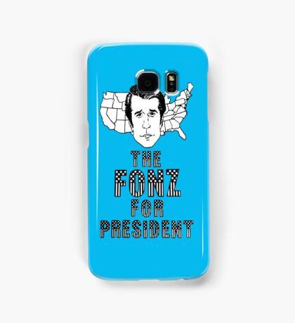 FONZ FOR PRESIDENT Samsung Galaxy Case/Skin