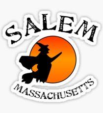 Salem Massachusetts Witch Sticker