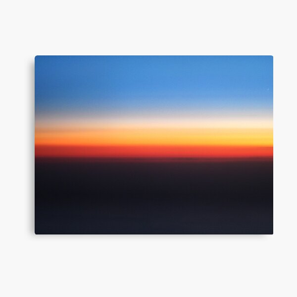 on the sky Canvas Print
