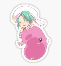 wallace and luvdisc Sticker