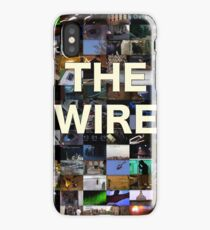 The Wire Television Poster iPhone Case/Skin