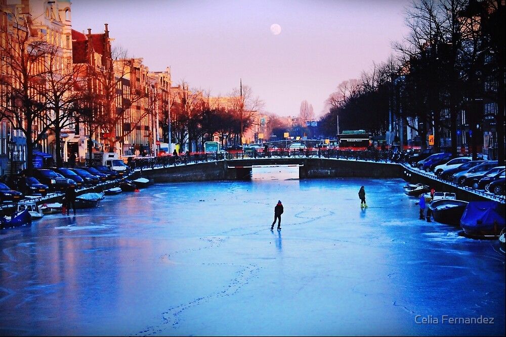 Frozen canal by chelo