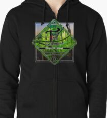 Escape The Jungle Zipped Hoodie